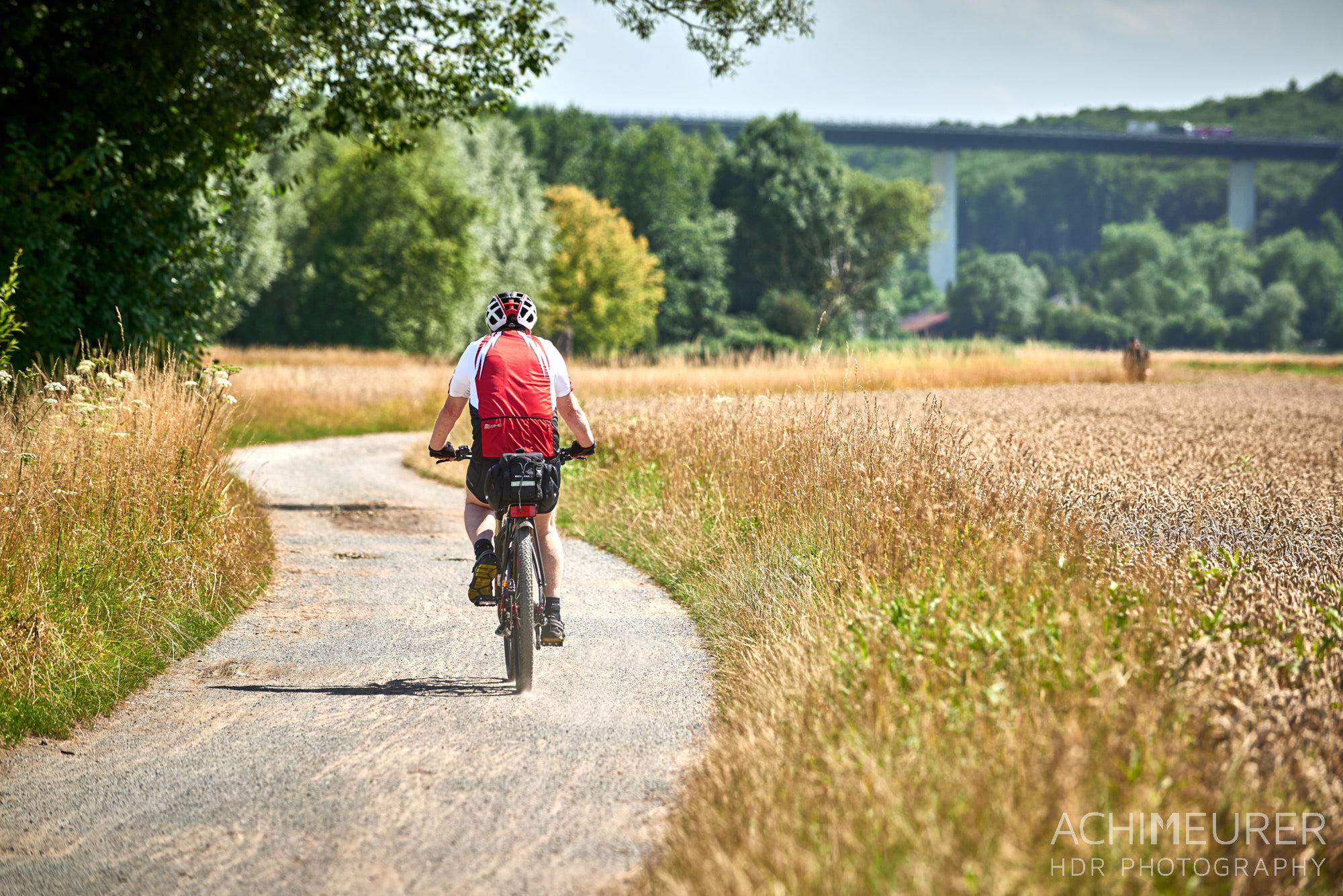 Fahrradtour Mülheim - Kettwig - Mülheim a.d. Ruhr, Ruhrgebiet, NRW by Array.