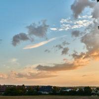 Sonnenuntergang am Standrand von Wolfenbüttel by AchimMeurer.com                     .