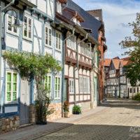 Fachwerkhäuser in Wolfenbüttel by Array.