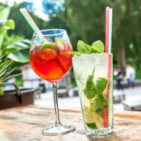 Cocktail genießen in der Strandbar in Wolfenbüttel by AchimMeurer.com .