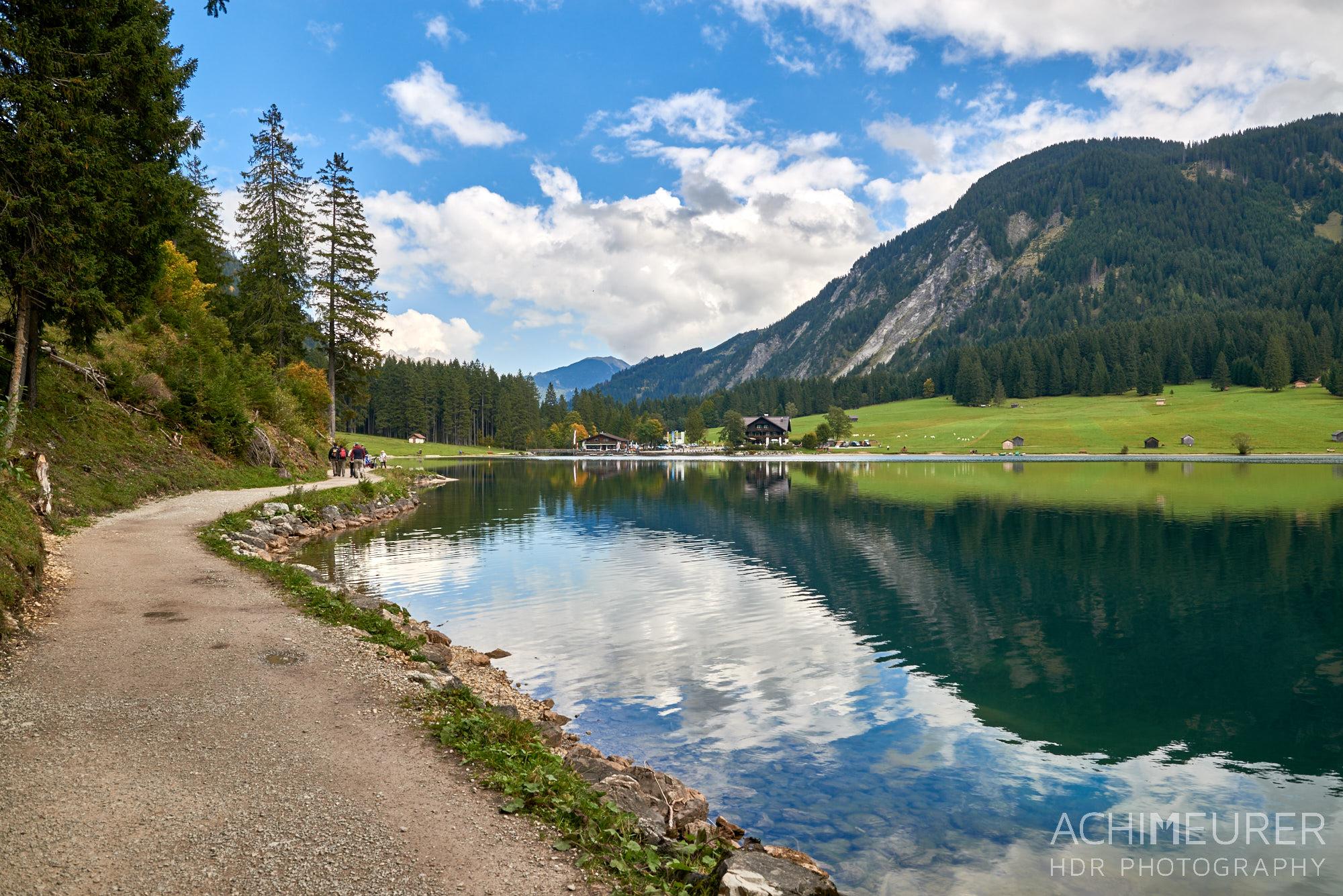 Vilsalpsee Tannheimertal, Tirol, Österreich by AchimMeurer.com .