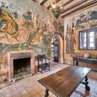 Kloster Castillo Monasterio de Escornalbou, Katalonien, Spanien by AchimMeurer.com .