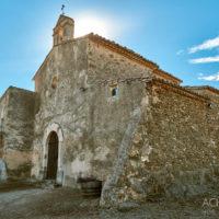 Kapelle auf Berg mit abenteuerlicher Auffahrt, Ausblick, Landschaft, Berge, Katalonien, Spanien by AchimMeurer.com .