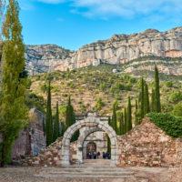 Kloster Escaladei, Berge, Katalonien, Spanien by AchimMeurer.com .