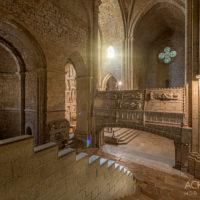 Kloster Monestir de Santa Maria de Poblet, Katalonien, Spanien by Array.