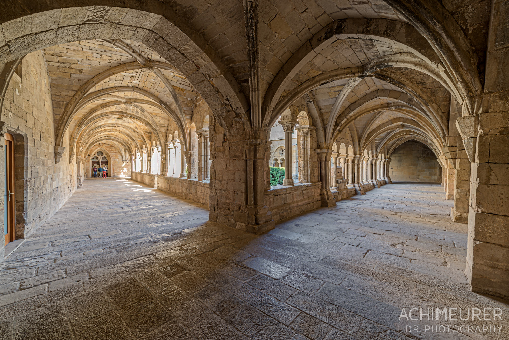 Kloster Vallbona, Katalonien, Spanien by Array.