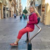 Monika, Ortsansichten von Reus, Katalonien, Spanien by Achim Meurer.