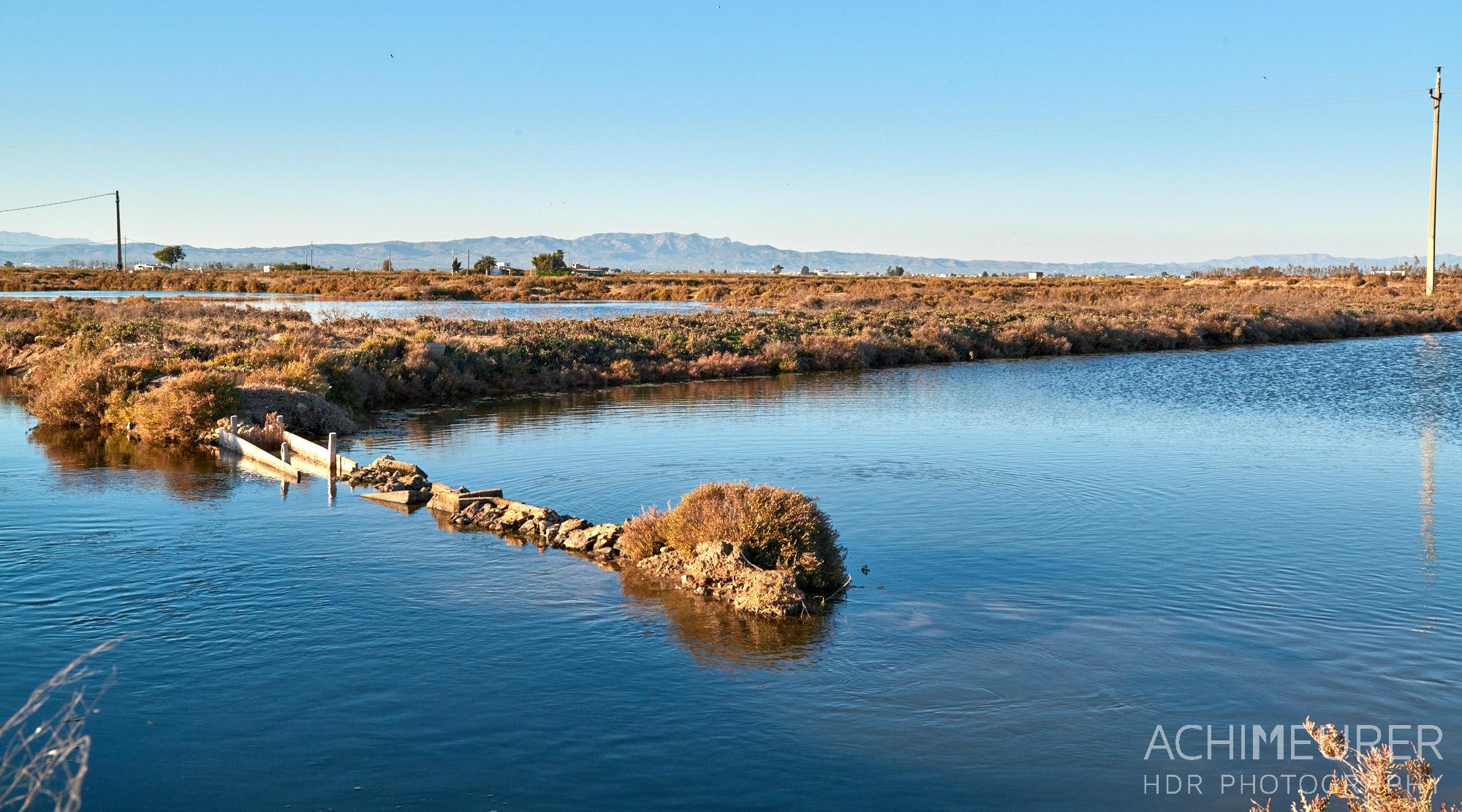 Naturpark Ebro-Delta, Katalonien, Spanien by AchimMeurer.com .