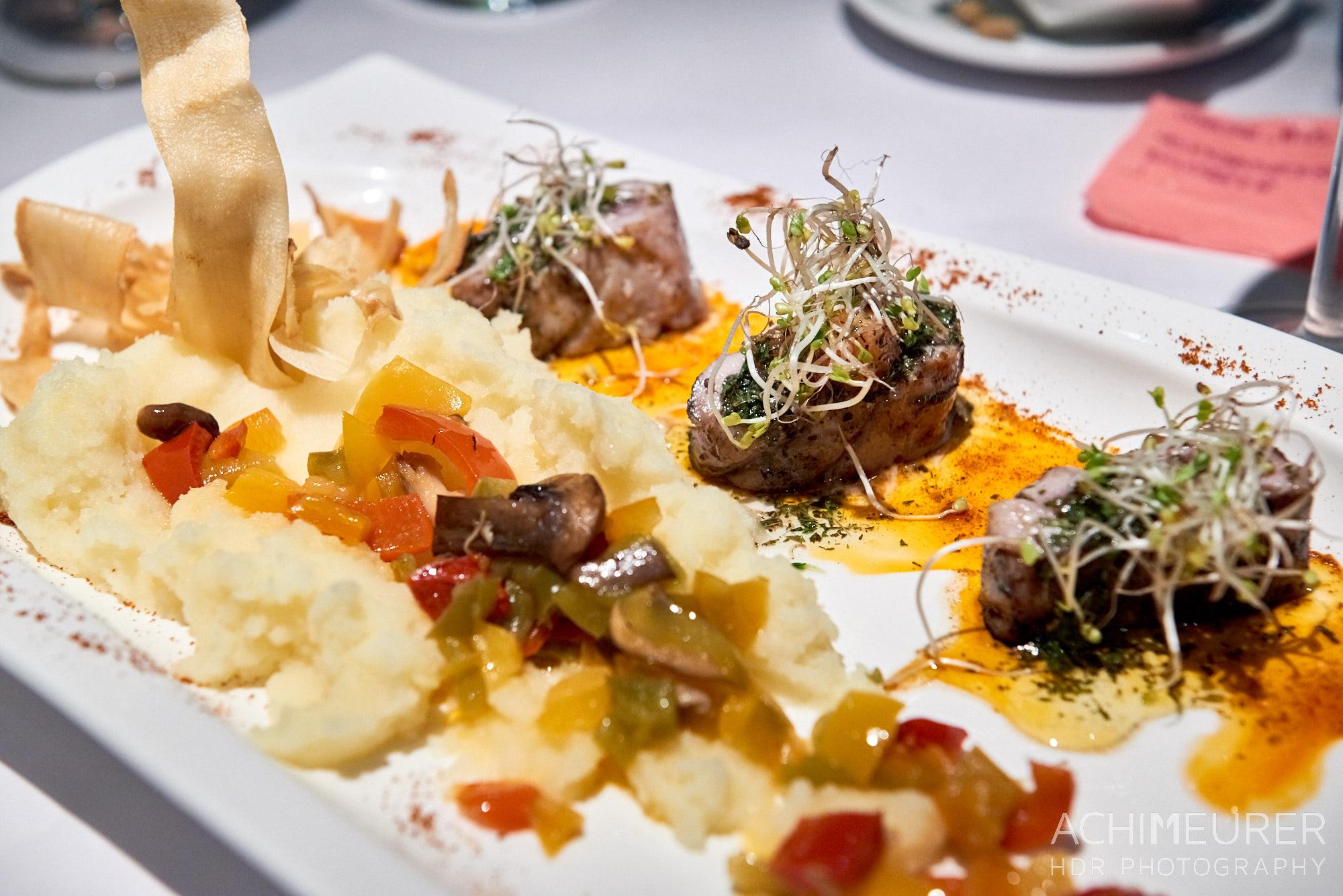 Abendessen in Vilafranca, Katalonien, Spanien by AchimMeurer.com .
