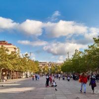 Ortsansichten von Vilafranca in Katalonien by Achim Meurer.