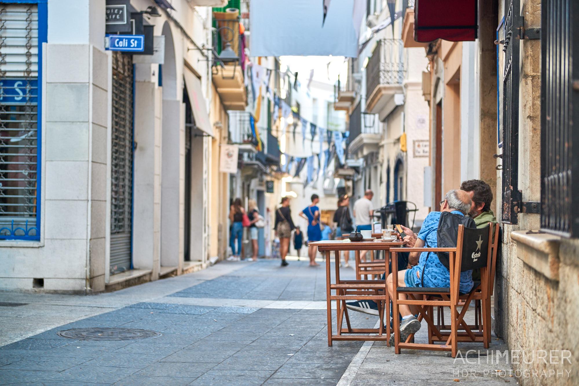 Ortsansichten von Sitges in Katalonien, Spanien by Achim Meurer.
