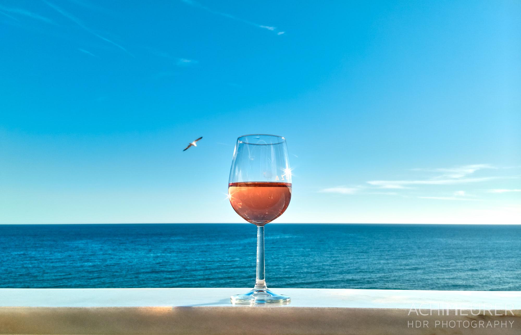 Chillout mit Meerblick am Strand von Albufeira, Algarve, Portugal by Achim Meurer.