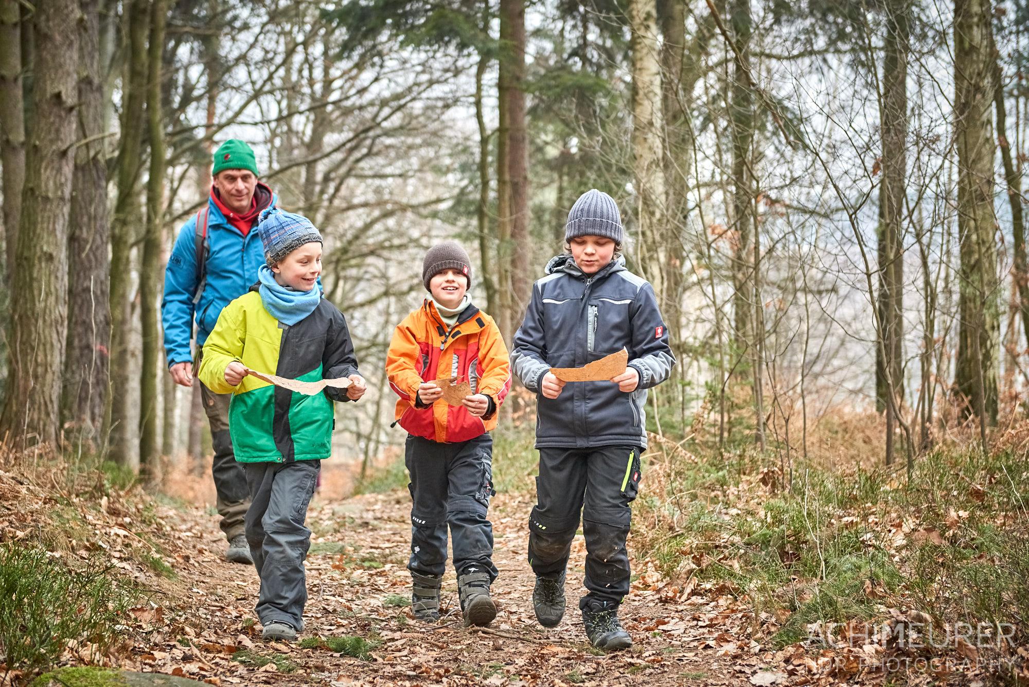 Wanderung für Kinder mit Schatzsuche, Sächsische Schweiz by AchimMeurer.com.