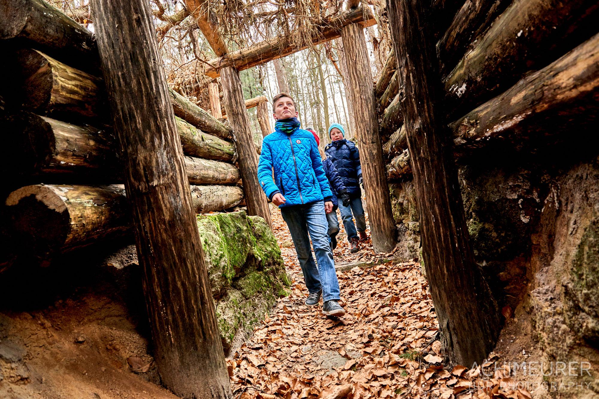 """Spielplatz """"Die Waldhusche"""" bei Hinterhermsdorf in der Sächsischen Schweiz by AchimMeurer.com."""