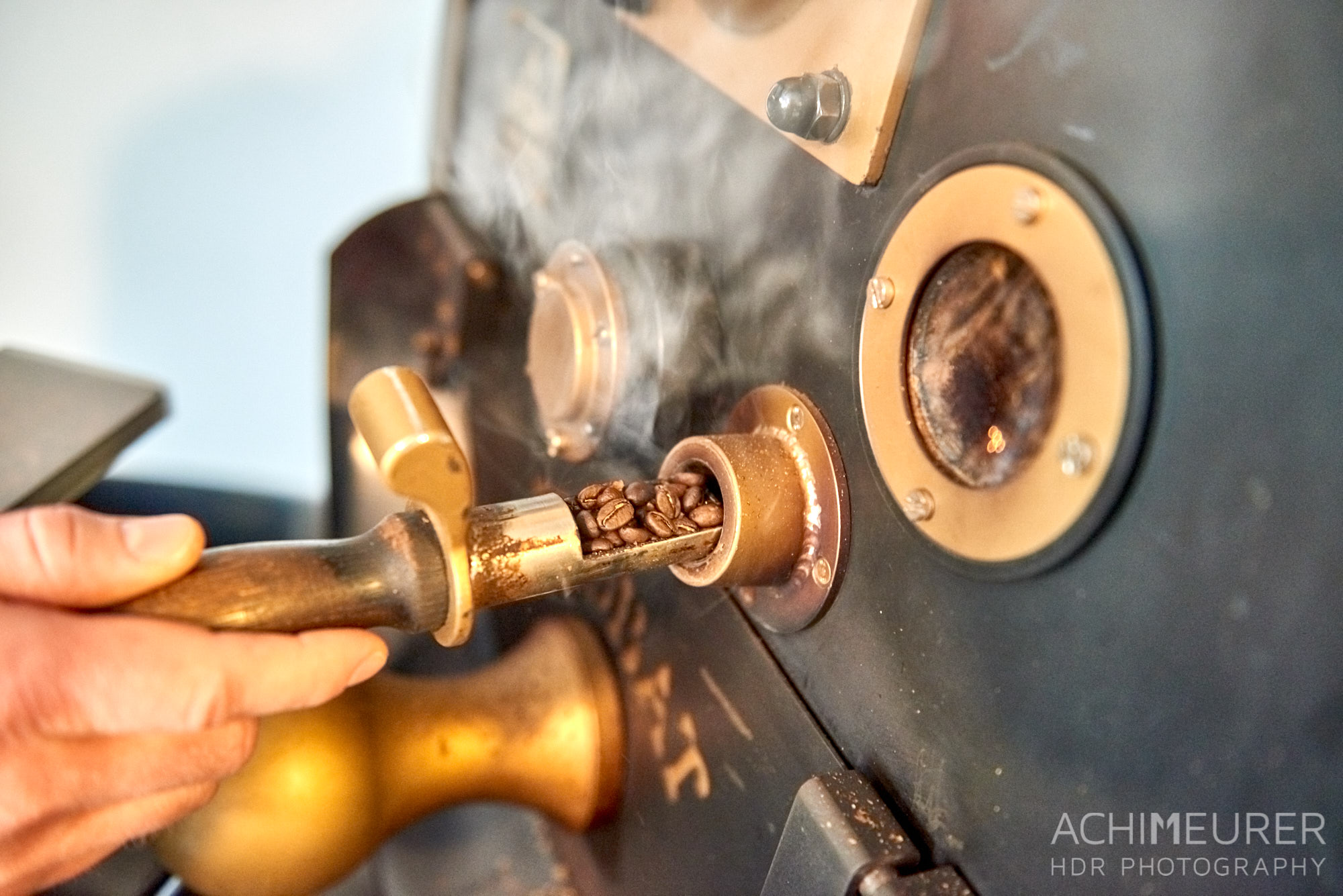 Kaffeerösterei Schmole in Pirna, Sächsische Schweiz by AchimMeurer.com.