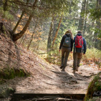 Wandern im Winter in der Sächsischen Schweiz by AchimMeurer.com.