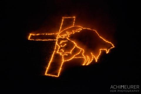 Herz-Jesu-Feuer Fotografieren