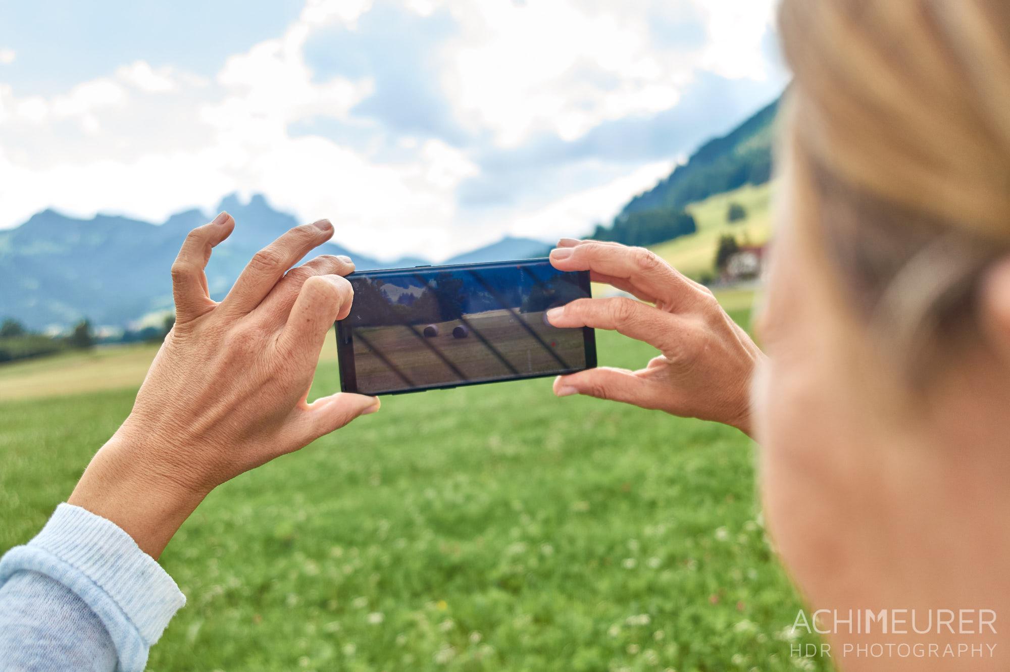 Mit dem Smartphone richtig fotografieren, Tannheimer Tal, Tirol, Österreich by © AchimMeurer.com.