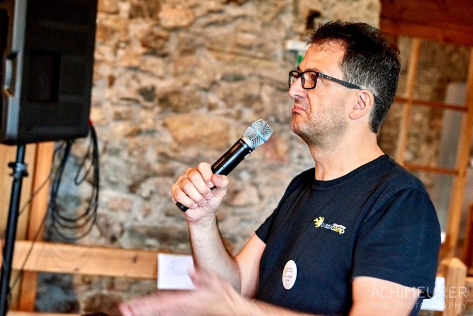 Rainer Edlinger beim Castlecamp