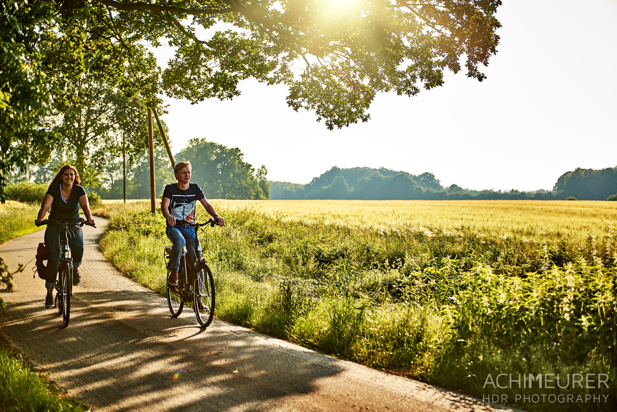 Fahrradtour im Osnabrückerland, Niedersachsen by AchimMeurer.com.