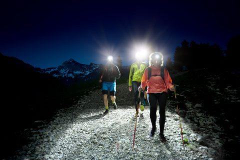 Stirnlampenlauf mit Peter Schlickenrieder, Traildays 2019, Tannheimer Tal, Tirol, Österreich by ACHIM MEURER.